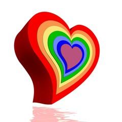 Hearts and chakras