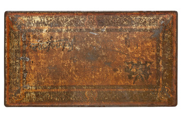 rusty painted metal texture