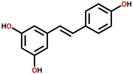 Resveratrol structural formula