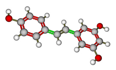 Resveratrol molecular structure