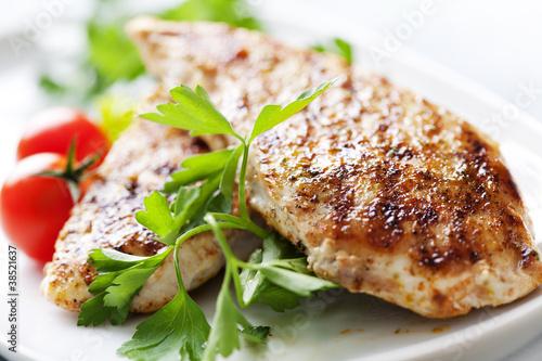 grilled chicken brest fillet