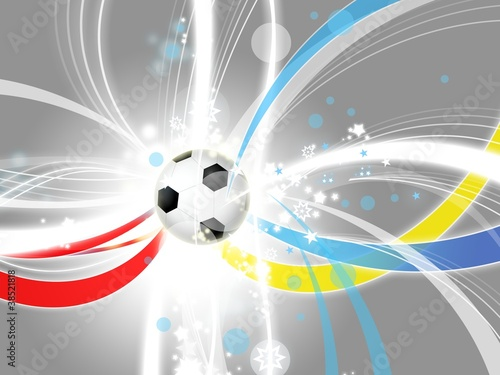euro 2012 modern light background