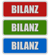 3 Sticker rgb oc BILANZ