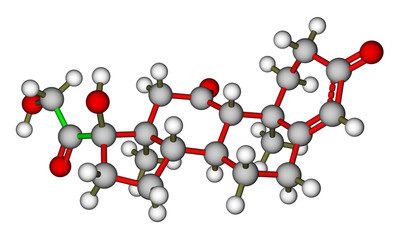 Cortisone molecular structure