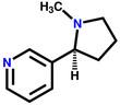Nicotine structural formula