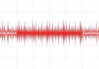 Fondo abstracto con ecualizador en ondas