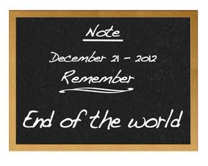 December 21, 2012.