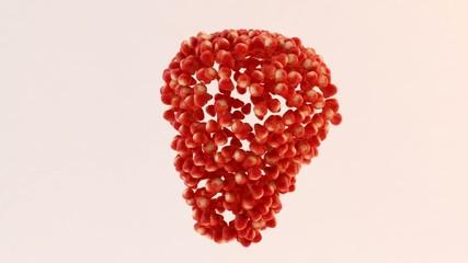 3d frutta fragole fragola tanti power fruit passion