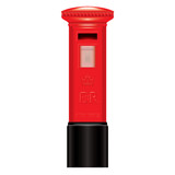 Red Mail Box - England London - Icon - detailed isolated vector
