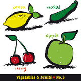 Vegetables & Fruits 3
