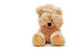 canvas print picture - trauriger Teddy