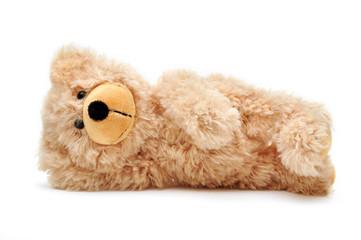 liegender Teddybär