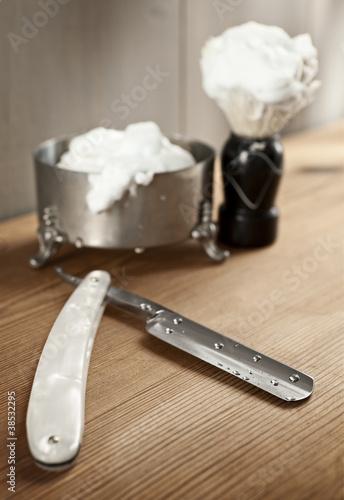 Vintage shaving