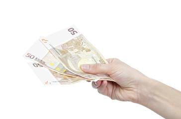 Pagando en euros.