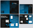 Vector Business Brochure and Tri Fold Flyer Template