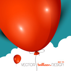 Vector balloon design