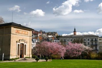 Trinkhalle und Kurpark in Baden-Baden