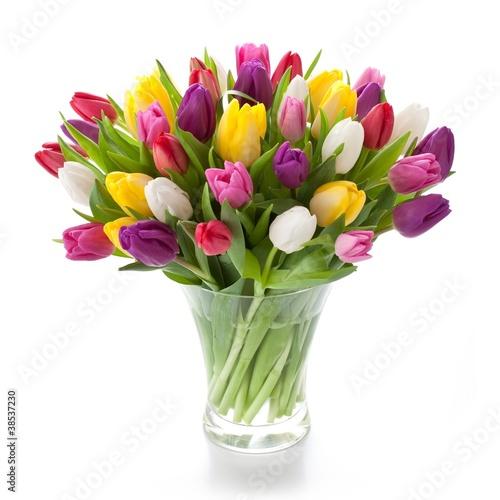 Bunte Tulpen - 38537230