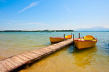 Fototapety Lake  Chiemsee