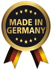 Qualitätssiegel - Made in Germany