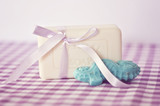 Lavender Soap with Ribbon
