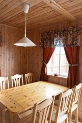 arredamento interno di un cottage in Islanda