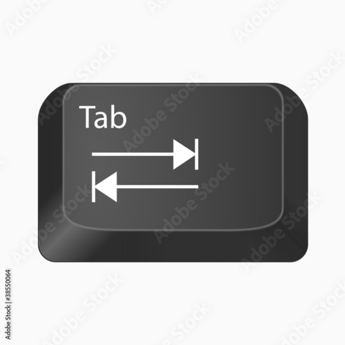Tab - Keyboard Button