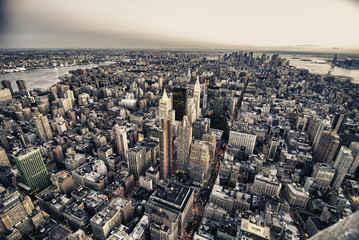 Architecture and Colors of New York City, U.S.A.