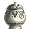 Pot en faïence de st-Cloud XVIIIème siècle