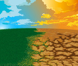 Aridity Changes in the environment. To drought poster