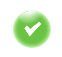 Simbolo di spunta - icona web