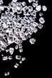 Sugar crystals. Macro shot.
