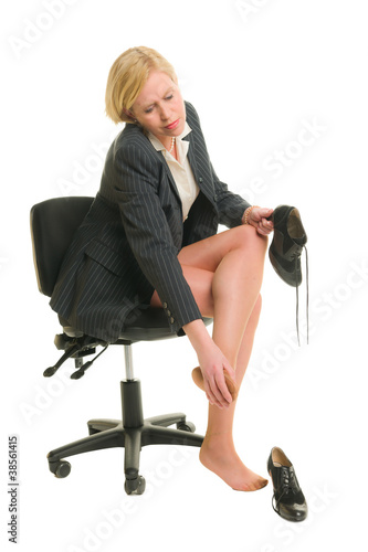 Legs in pain