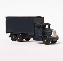 Blue toy truck