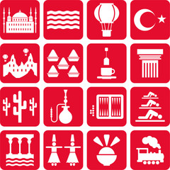 Turkey pictograms