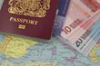 uk bio  passport money map