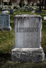 Grave for Retirement