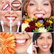 Detaily fotografie Šťastná žena úsměv.