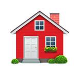 Fototapety house icon