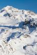French Alps ski resort