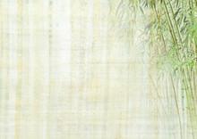 "Постер, картина, фотообои ""Chinese background with bamboo texture"""