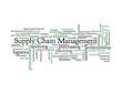 Supply Chain Management - blue & black