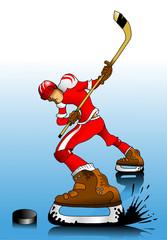 red hockey