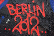 Graffiti Berlin 2012 bemalte Wand