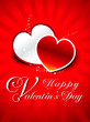 abstract Valentien's day greeting card