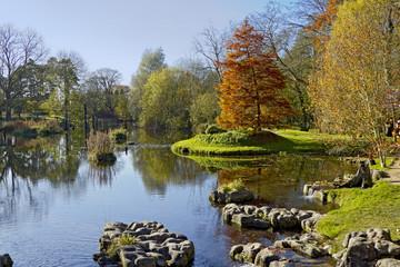 Lake at St. Fiachra's Garden