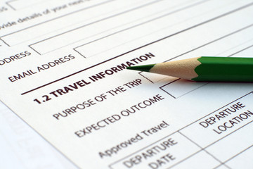 Travel form