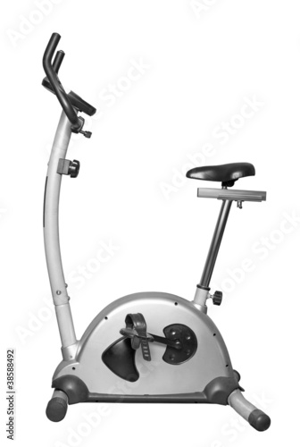 Bicycle exercise machine