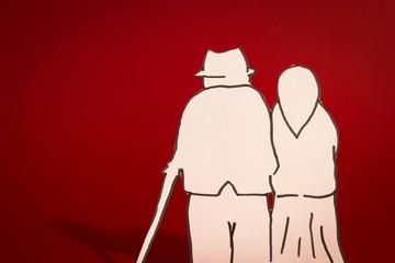 Anziani che si vogliono bene