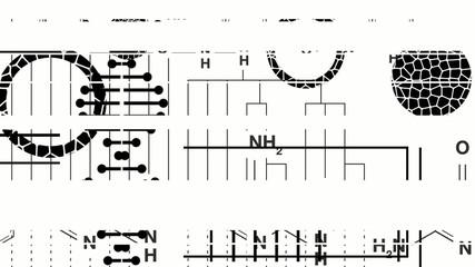 Biology Graphics Mono Loop HD